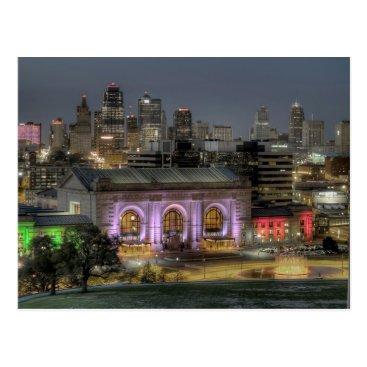 DPphotography Union Station (Kansas City) Postcard
