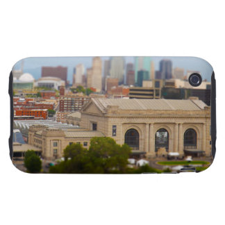 Union Station, Kauffman Center, Sky Stations KC iPhone 3 Tough Case