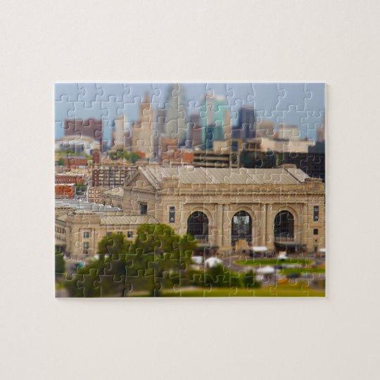 Union Station, Kauffman Center, Sky Stations KC Jigsaw Puzzle