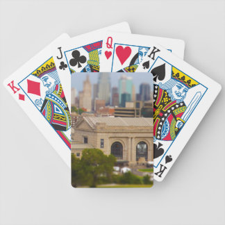 Union Station, Kauffman Center, Sky Stations KC Bicycle Playing Cards