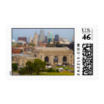 Union Station, Kauffman Center, Sky Stations KC Postage Stamps