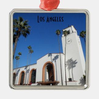 Union Station- Los Angeles Metal Ornament