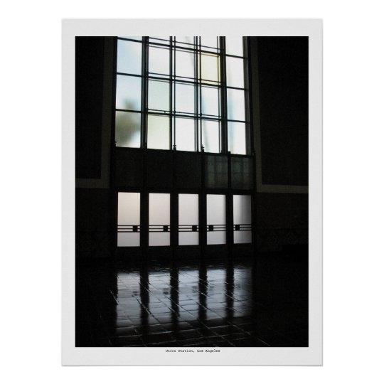 Union Station, Los Angeles Poster