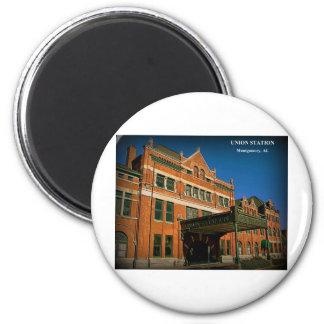 UNION STATION - Montgomery, Alabama Magnets