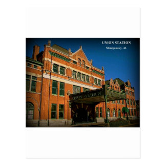 UNION STATION - Montgomery, Alabama Postcard