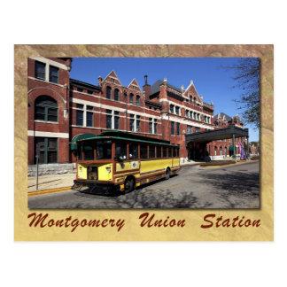 Union Station, Montgomery, Alabama Postcard