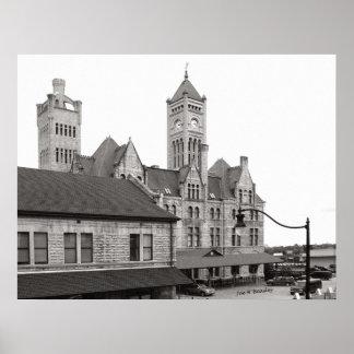 Union Station Nashville Tennessee Poster