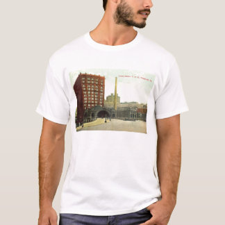 Union Station, Pittsburgh PA 1910 Vintage T-Shirt