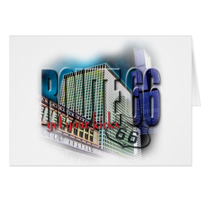 Union Station - Route 66 - Chicago Card