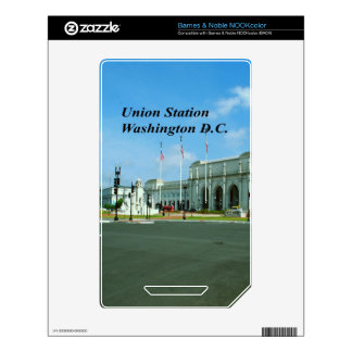 Union Station Washington D.C. Decals For The NOOK Color
