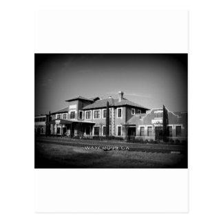 UNION STATION - Waycross, Georgia Postcard