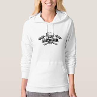 Union Steelworker: Skull and Sledge Hammers Hoody