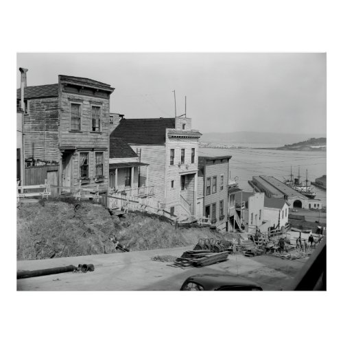 UNION STREET at TELEGRAPH HILL 1933