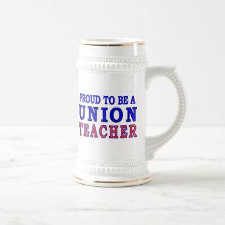 UNION TEACHER BEER STEIN