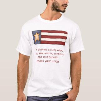 Union thank you T-Shirt