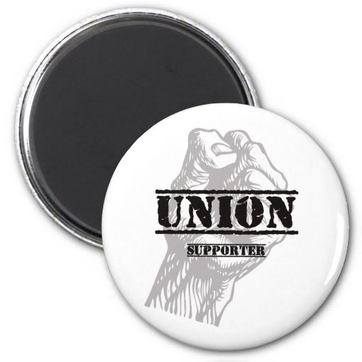 Union Thug Supporter 2 Inch Round Magnet