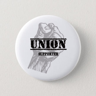 Union Thug Supporter Button