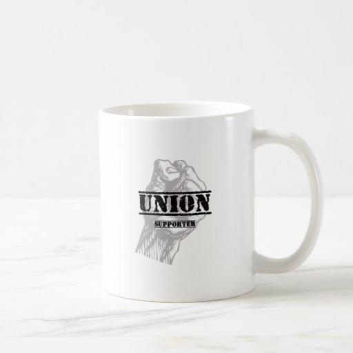 Union Thug Supporter Classic White Coffee Mug