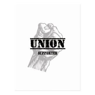 Union Thug Supporter Postcard