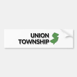 Union Township, New Jersey Bumper Sticker