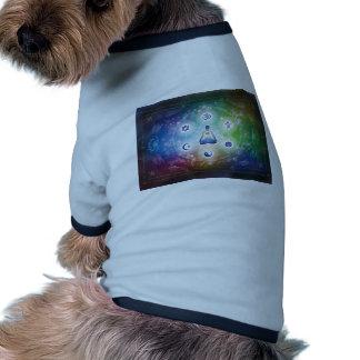 Unión universal - mayo todo sea feliz camiseta con mangas para perro