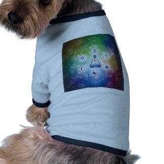 Unión universal camiseta con mangas para perro