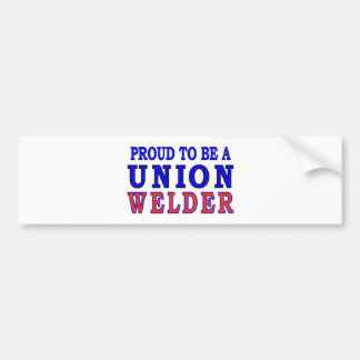 UNION WELDER BUMPER STICKER