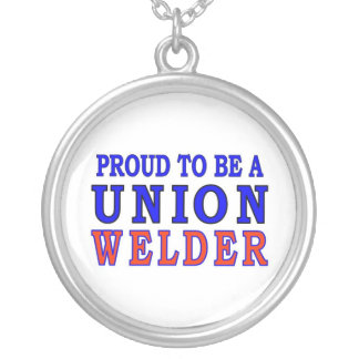 UNION WELDER SILVER PLATED NECKLACE