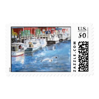 Union Wharf Postage Stamp