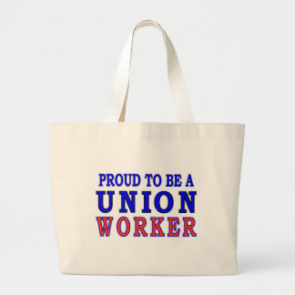UNION WORKER LARGE TOTE BAG