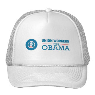 Union Workers for Obama Trucker Hat