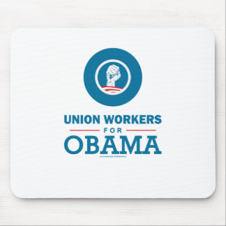 Union Workers for Obama Mouse Pad