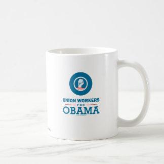 Union Workers for Obama Coffee Mug