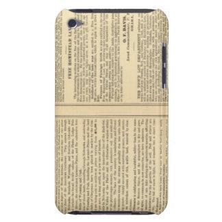 Unión y líneas de ferrocarril pacíficas centrales Case-Mate iPod touch cobertura