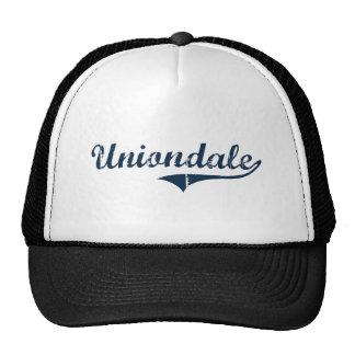 Uniondale New York Classic Design Mesh Hats