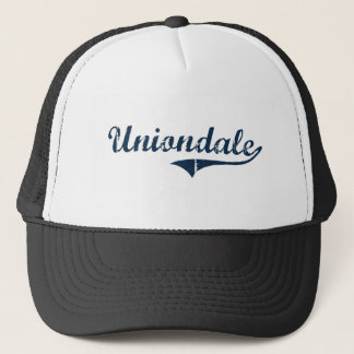 Uniondale New York Classic Design Trucker Hat