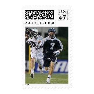 UNIONDALE, NY - 16 DE JUNIO:  Steven DeNapoli #7 4 Sellos Postales
