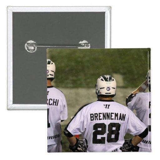 UNIONDALE, NY - 6 DE AGOSTO:  Zack Brenneman #28 Pin