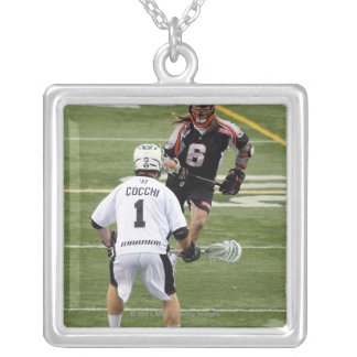 UNIONDALE, NY - AUGUST 06:  Dan Cocchi #1 Silver Plated Necklace