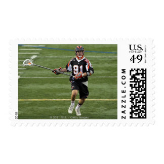 UNIONDALE, NY - AUGUST 06:  Dillon Roy #91 Postage Stamp