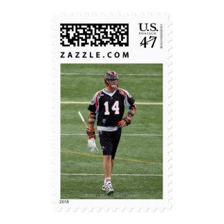 UNIONDALE, NY - AUGUST 06:  Drew Westervelt #14 Postage