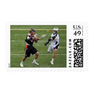 UNIONDALE, NY - AUGUST 06: Max Siebald #42 Stamp