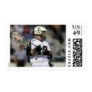 UNIONDALE, NY - AUGUST 06:  Stephen Peyser #18 2 Stamp