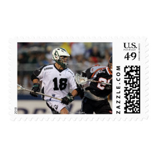 UNIONDALE, NY - AUGUST 06:  Stephen Peyser #18 3 Stamp