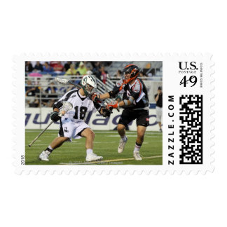 UNIONDALE, NY - AUGUST 06:  Stephen Peyser #18 Stamp