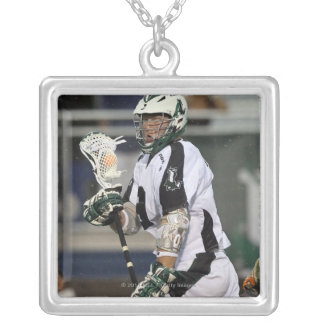UNIONDALE, NY - AUGUST 06:  Tim Goettelmann #9 2 Silver Plated Necklace
