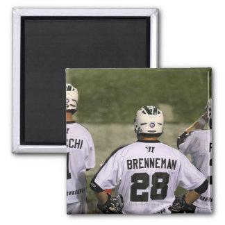 UNIONDALE, NY - AUGUST 06:  Zack Brenneman #28 Magnet