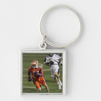 UNIONDALE, NY - AUGUST 13:  Brodie Merrill #17 2 Silver-Colored Square Keychain