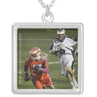 UNIONDALE, NY - AUGUST 13:  Brodie Merrill #17 2 Silver Plated Necklace