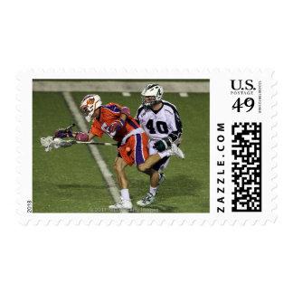 UNIONDALE, NY - AUGUST 13:  Matt Danowski #40 10 Postage
